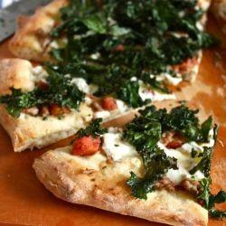 Crispy-Kale White Pizza